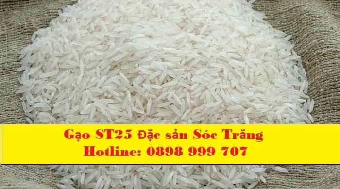 Địa chỉ bán gạo st25 uy tín tphcm